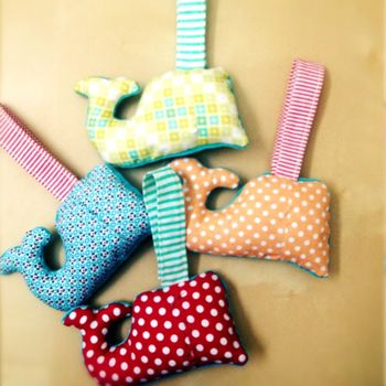 Whale Rattles by Nifty Kidstuff