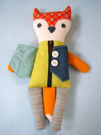 Nifty Kidstuff: Learn to Dress Mr. Fox