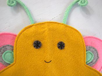butterfly metamorphosis puppet
