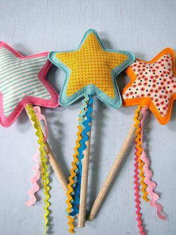Nifty Kidstuff: Star Wands