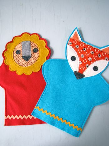 Nifty Kidstuff: Hand Puppets