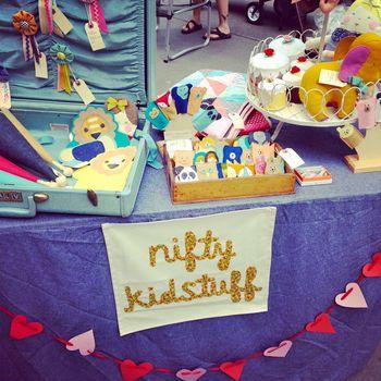 Nifty Kidstuff: Artist Market