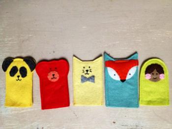 Nifty Kidstuff: Finger Puppets